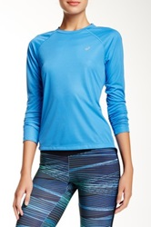 Asics Long Sleeve Tee Blue