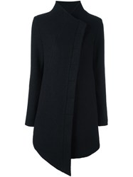 Thom Krom Asymmetric Coat Black