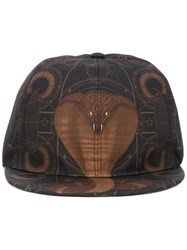 Givenchy Cobra Print Hat Black