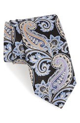 J.Z. Richards Men's Paisley Silk Tie