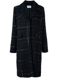 Libertine Libertine 'Talk' Buttoned Coat Black
