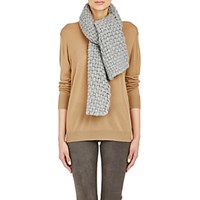 Barneys New York Women's Chunky Cashmere Scarf Grey