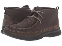 Dockers Woodson Chocolate Soft Tumbled Full Grain Men's Lace Up Boots Brown