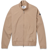 Nn.07 Harry Lightweight Weather Resistant Harrington Jacket Neutrals