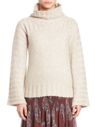 See By Chloe Chunky Turtleneck Sweater Aspen Light