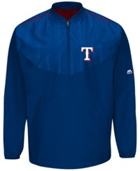 Majestic Men's Texas Rangers Training Jacket