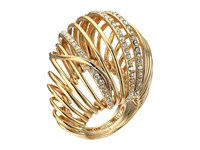 Alexis Bittar Orbital Cocktail Ring W Crystal Accents 10K Gold Ring