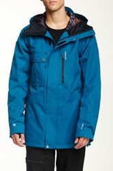 Quiksilver First Class 15 Snow Jacket Blue