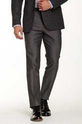 Ben Sherman Herringbone Trouser Gray