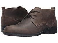 Ecco Harold Derby Boot Tarmac Dark Clay Men's Shoes Tan