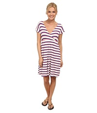 Carve Designs Coco Dress White Baja Women's Dress Red