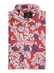 Chester Barrie Floral Tailored Fit Classic Collar Shirt