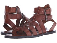 Massimo Matteo Buckle Strap Gladiator Cuoio Men's Sandals Brown