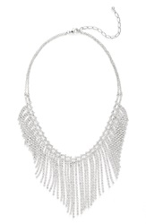 Cristabelle 'Waterfall' Bib Necklace Crystal