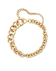 Michael Kors Holiday Luxe Cubic Zirconia And Goldtone Stainless Steel Curb Chain Link Bracelet