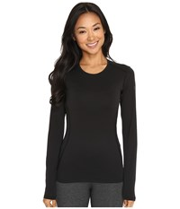 Arc'teryx Phase Sl Crew Long Sleeve Black Women's Clothing
