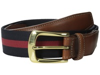 Torino Leather Co. European Surcingle Navy Red Men's Belts