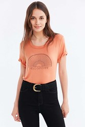 Truly Madly Deeply Hello Sunshine Tee Orange