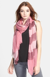 Burberry Brit Sheer Mega Check Scarf Rose Pink