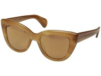 Paul Smith Lovell Teak Tortoise Peach Gold Mirror Fashion Sunglasses Brown