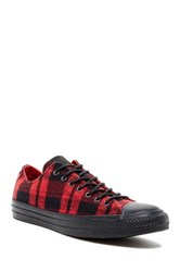 Converse Chuck Taylor Plaid Sneaker Unisex Red