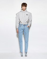 Vetements Reworked High Waisted Denim Blue