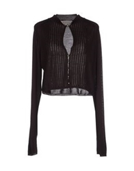 Sportmax Cardigans Dark Brown