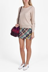 Missoni Button Neck Jumper Beige