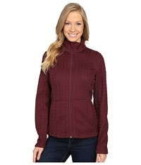 Spyder Major Cable Core Sweater Fini Women's Sweater Brown