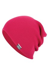 Men's Converse Slouchy Rib Knit Beanie Pink Pink Paper