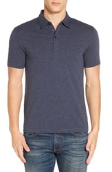 Original Penguin Men's 'Bing' Jersey Polo Dark Sapphire