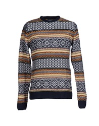 Desigual Sweaters Yellow