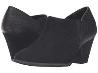 Dr. Scholl's Charlie Black Microsuede Women's Shoes