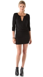 Lanston Cutout Mini Dress Black