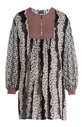 Just Cavalli Printed Silk Tunic