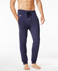Lacoste Men's Banded Lounge Pants Navy