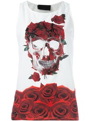 Philipp Plein 'Romance' Tank Top White