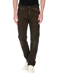 Gilded Age Casual Pants Dark Brown