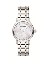 Montblanc Star Classique Lady Quartz Watch With Diamonds 30Mm