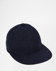 Jack Wills Calendon Wool Cap Navy