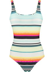 Lygia And Nanny Striped Swimsuit