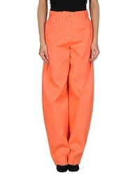 Kenzo Casual Pants Orange