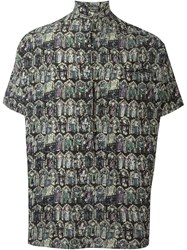 Romeo Gigli Vintage All Over Print Shirt Multicolour