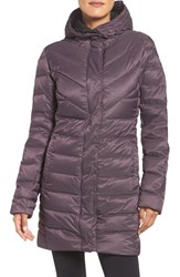 Helly Hansen Women's 'Saga' Down Water Repellent Parka Dark Violet