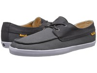 Reef Deckhand Low Charcoal Grey Men's Shoes Gray