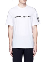 Alexander Wang 'Mixtape' Graphic Cotton T Shirt White