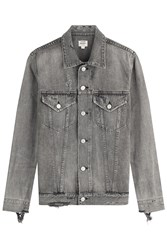 Citizens Of Humanity Cotton Denim Jacket Grey