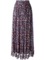 Iro Printed Maxi Skirt Multicolour