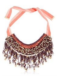 Etro Beaded Fringe Necklace