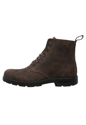 Blundstone Laceup Boots Rustic Brown